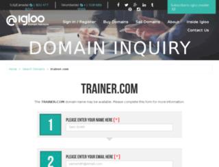 nfs-mania.trainer.com screenshot