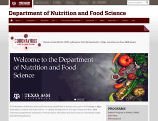 nfs.tamu.edu screenshot