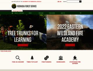 nfs.unl.edu screenshot