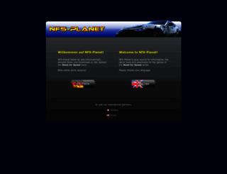 nfsplanet.com screenshot