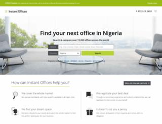 ng.instantoffices.com screenshot