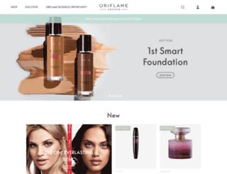 ng.oriflame.com screenshot