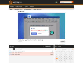 ng.soccerway.com screenshot