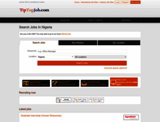 ng.tiptopjob.com screenshot