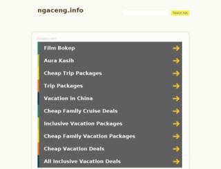ngaceng.info screenshot