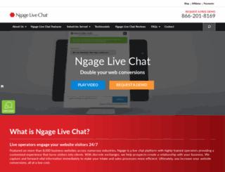 ngagelive.com screenshot
