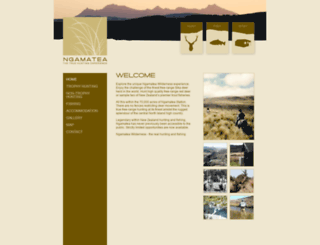 ngamatea.co.nz screenshot