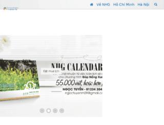 nganhacgiay.net screenshot