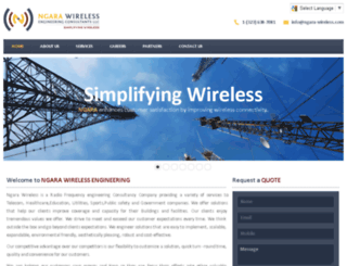 ngara-wireless.com screenshot