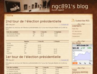 ngc891.blogdns.net screenshot