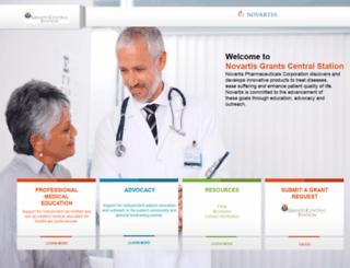ngcs.novartis.com screenshot