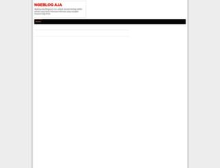 ngeblog-aja.blogspot.com screenshot