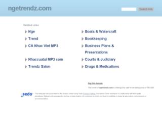 ngetrendz.com screenshot