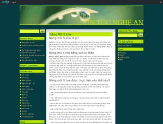 ngheanonline.edublogs.org screenshot