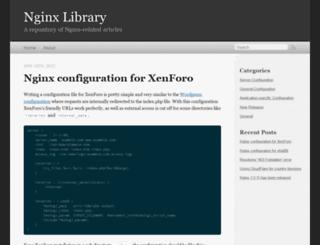 nginxlibrary.com screenshot