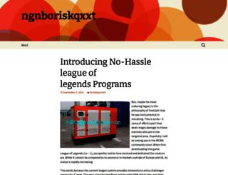 ngnboriskqxxt.wordpress.com screenshot