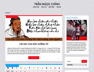 ngocchinh.com screenshot