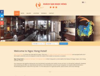 ngochonghotel.com screenshot