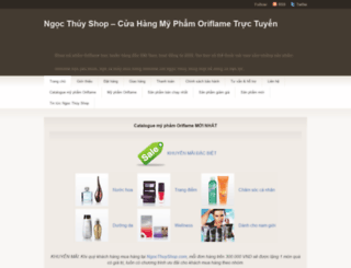 ngocthuyshop.com screenshot