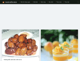ngonbonmua.com screenshot