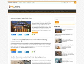 ngonline.net screenshot
