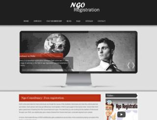 ngoregistrationindelhi.com screenshot