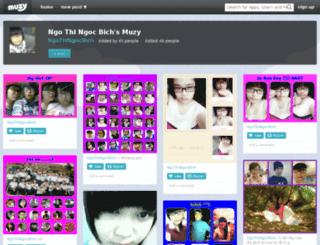 ngothingocbich.muzy.com screenshot