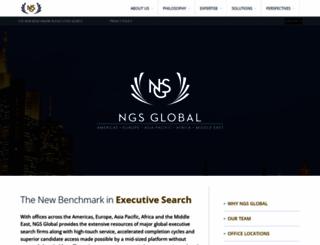 ngs-global.com screenshot