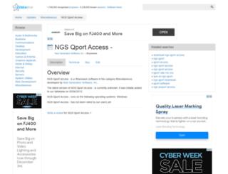 ngs-qport-access.updatestar.com screenshot