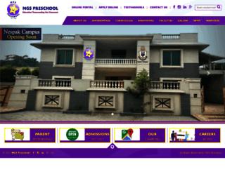 ngspreschool.com screenshot