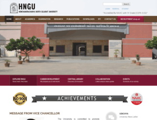 ngu.ac.in screenshot