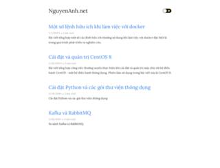 nguyenanh.net screenshot