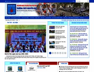 nguyenhue.phuyen.edu.vn screenshot