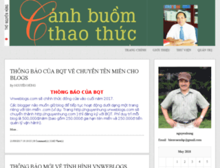 nguyenhung.vnweblogs.com screenshot