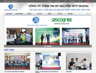 nguyenhuyhoang.com screenshot