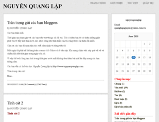 nguyenquanglap.vnweblogs.com screenshot