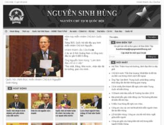 nguyensinhhung.net screenshot