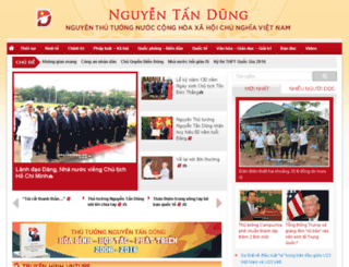 nguyentandung.us screenshot