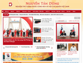 nguyentandungvn.org screenshot