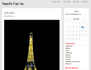 ngvanan.vnweblogs.com screenshot