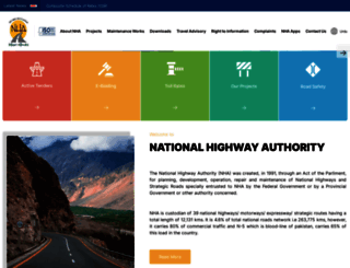 nha.gov.pk screenshot