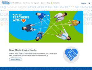 nhacareers.com screenshot