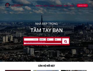 nhadatnamsaigon.com screenshot