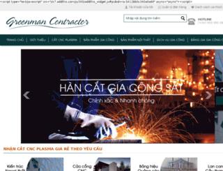 nhancatcnc.bizwebvietnam.com screenshot