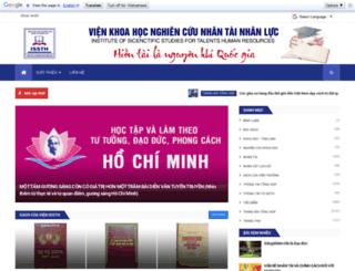 nhantainhanluc.com screenshot