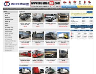 nhapxe.com screenshot