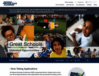 nhaschools.com screenshot
