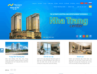 nhatrangcenter.com screenshot