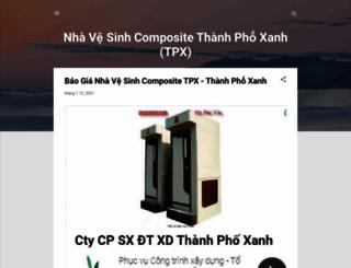 nhavesinhcomposite.com screenshot