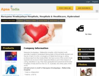 nhhospitals-hyderabad.apnaindia.com screenshot
